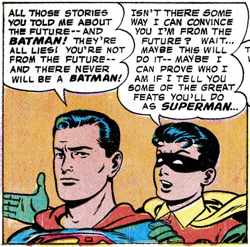 Superman and Robin Smallville