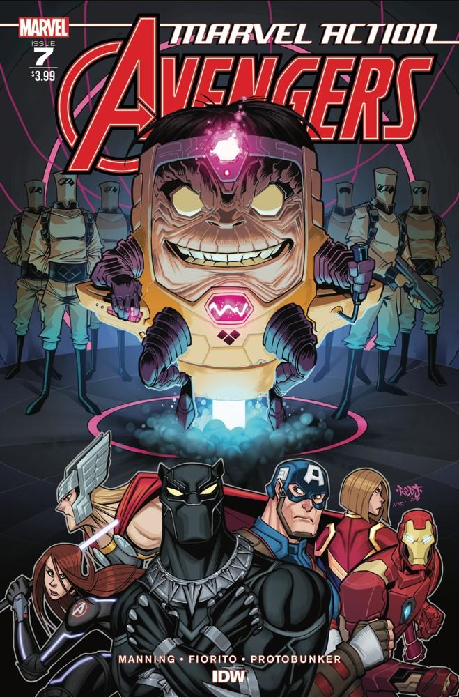 Marvel Action: Avengers #7