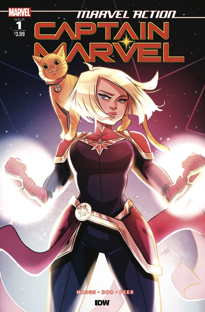 Preview: Marvel Action: Captain Marvel #1