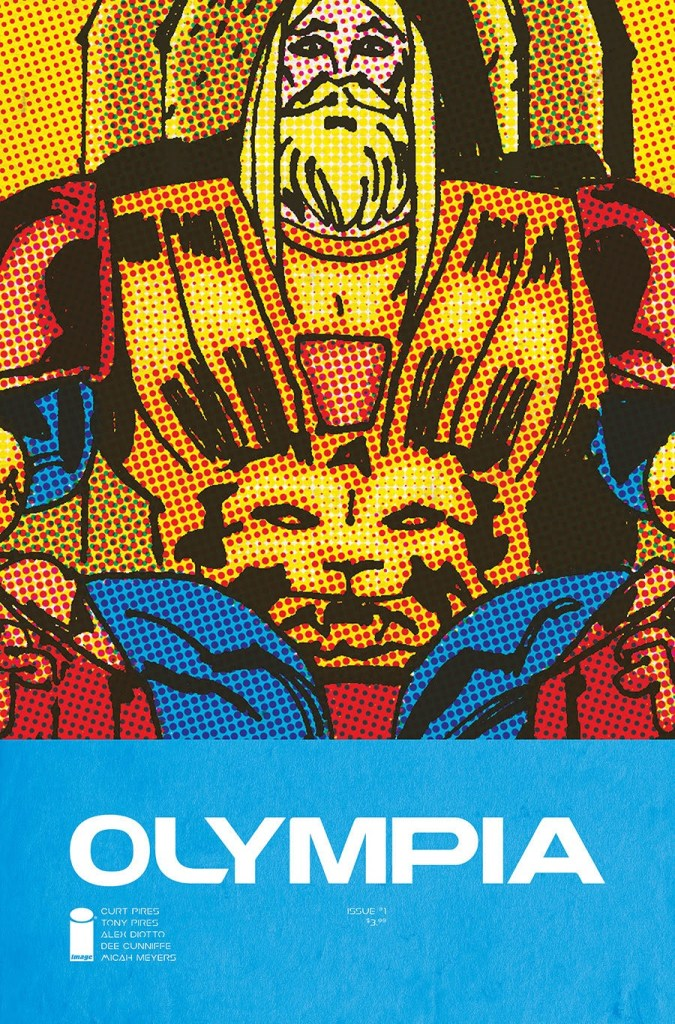 Olympia #1 Cover A by Alex Diotto and Dee Cunniffe