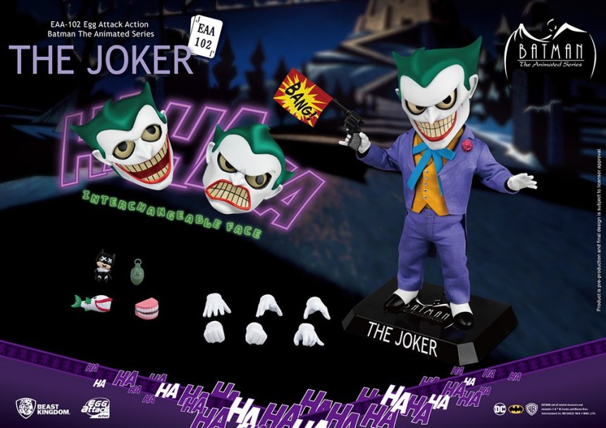 PREVIEWS Exclusive Egg Attack Action figure Joker