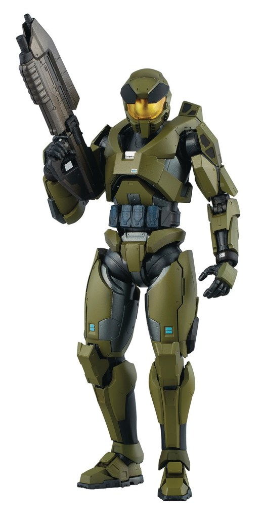 PREVIEWS Exclusive Master Chief Mjolnir Mark V figure