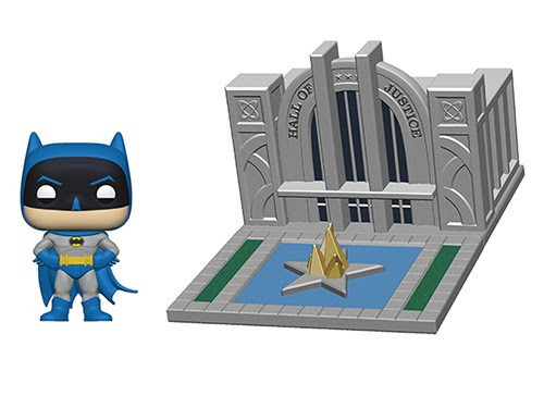 Pop! Town: Batman 80th - Hall of Justice with Batman