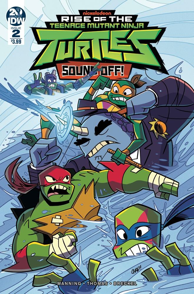 Teenage Mutant Ninja Turtles: Rise of the TMNT: Sound Off! #2