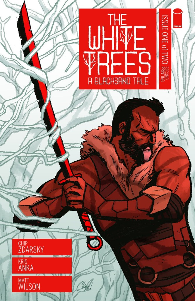 The White Trees #1, second printing