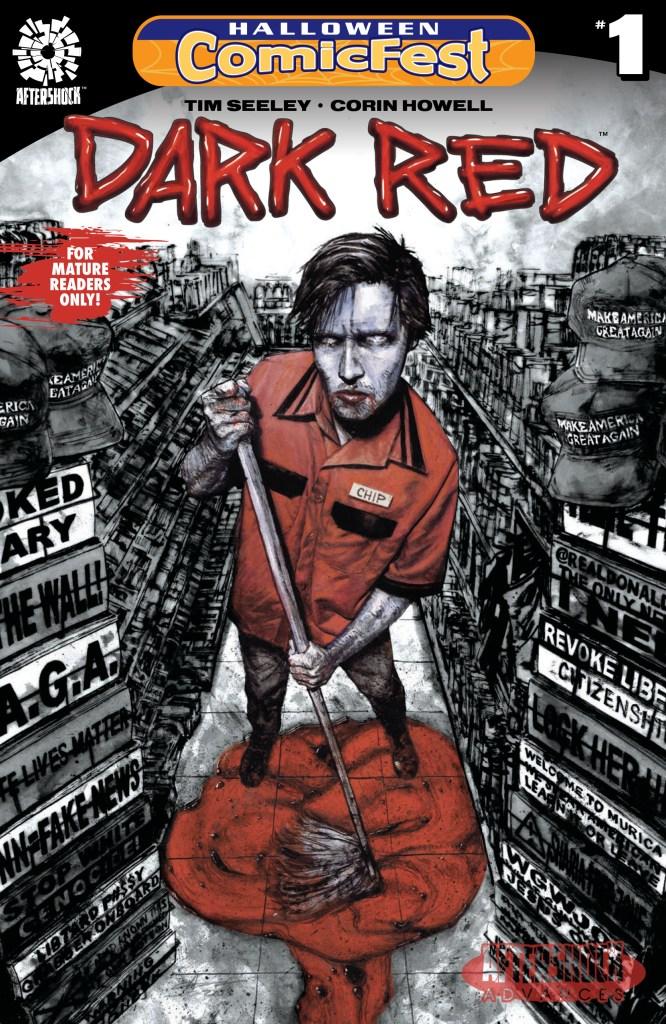 Dark Red #1 Halloween ComicFest B&W Reprint