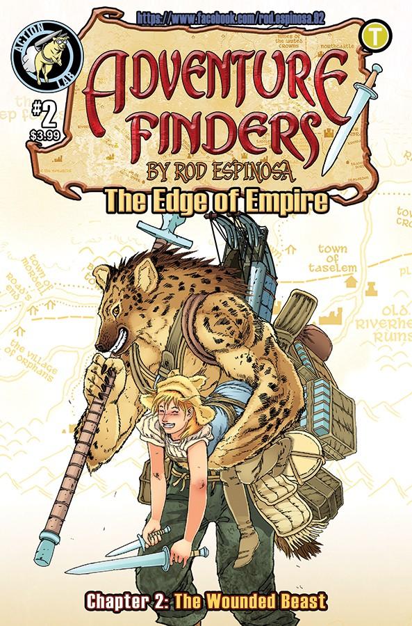 ADVENTURE FINDERS: THE EDGE OF EMPIRE #2