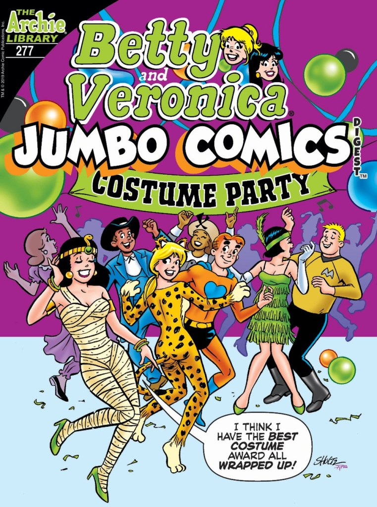 BETTY & VERONICA JUMBO COMICS DIGEST #277