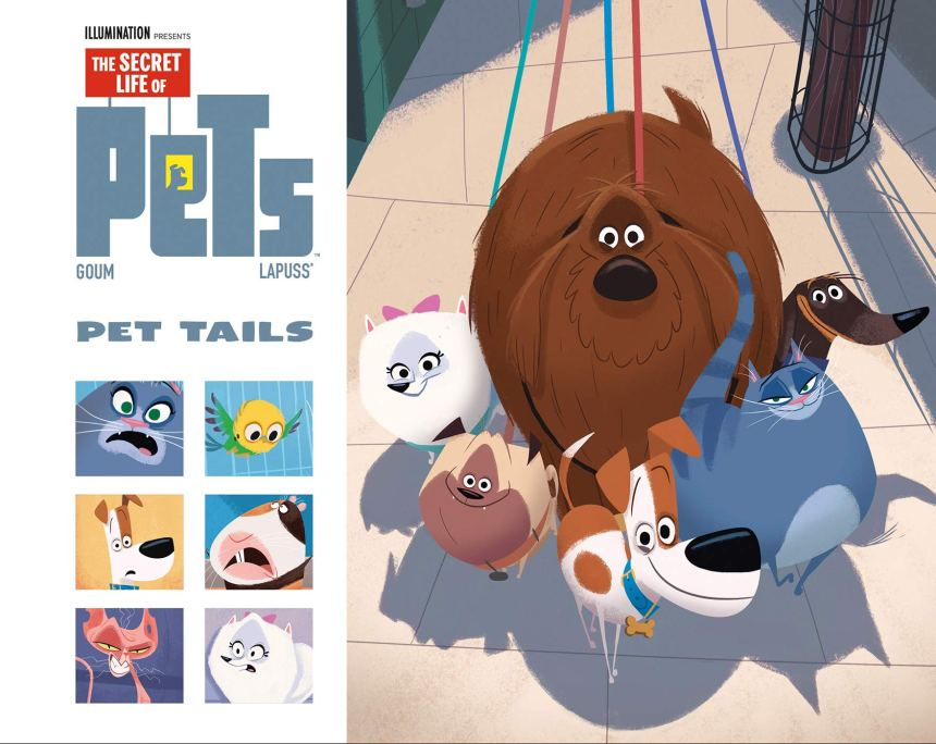 The Secret Life Of Pets: The Fast and the Furry #1