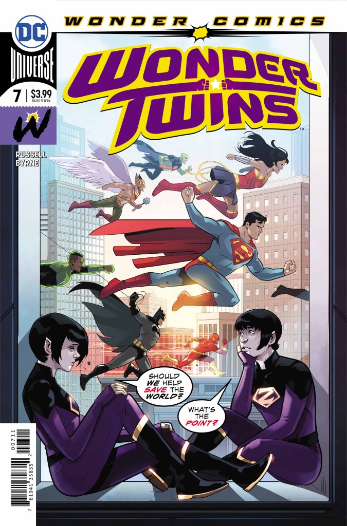 Wonder Twins #7 (of 12)