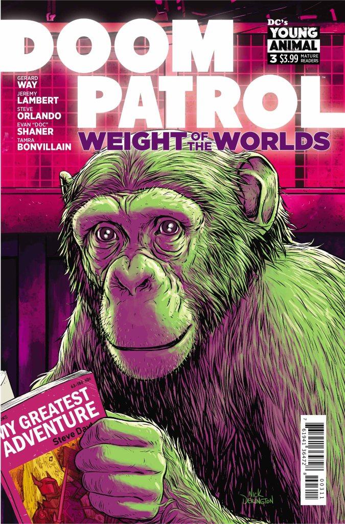 Doom Patrol: Weight of the Worlds #3