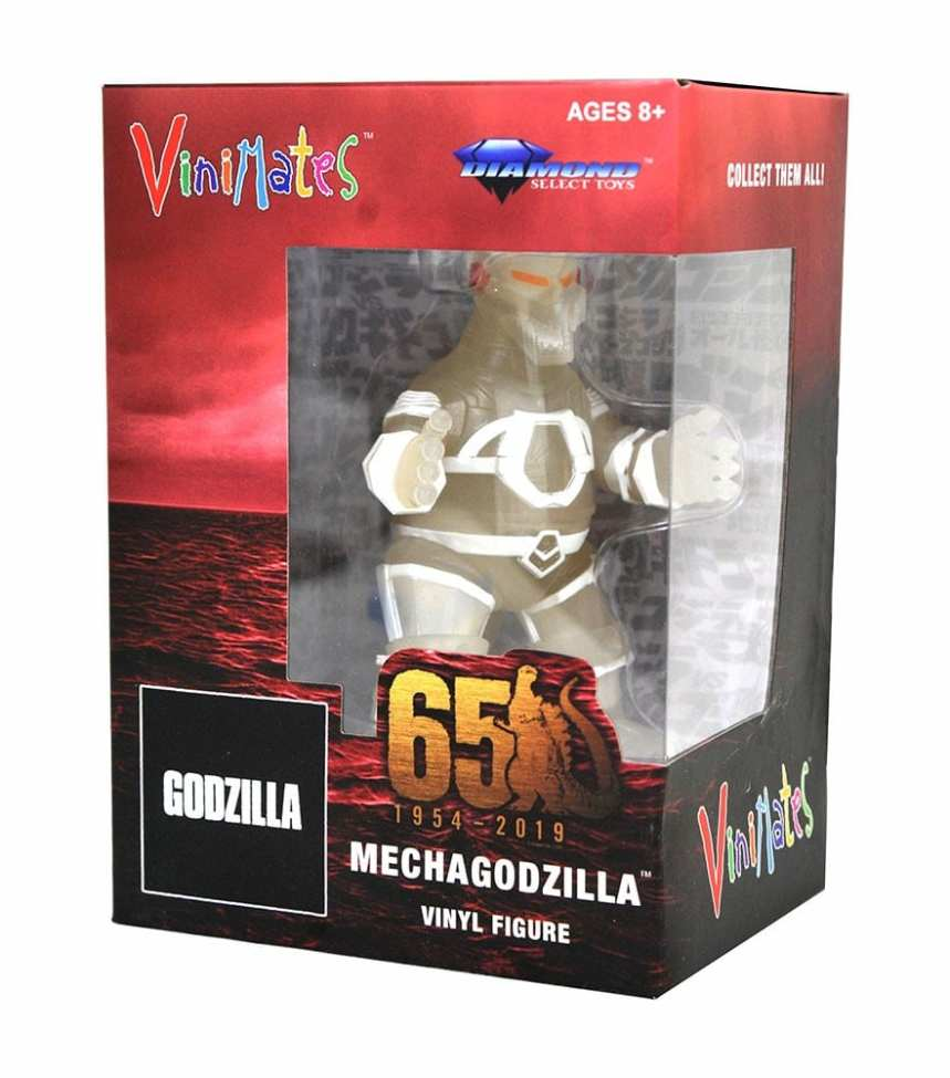 Godzilla VInimates Mechagodzilla Glow-In-The-Dark Vinyl Figure