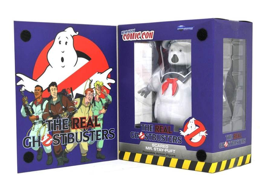 Real Ghostbusters Scared Mr. Stay-Puft Action Figure