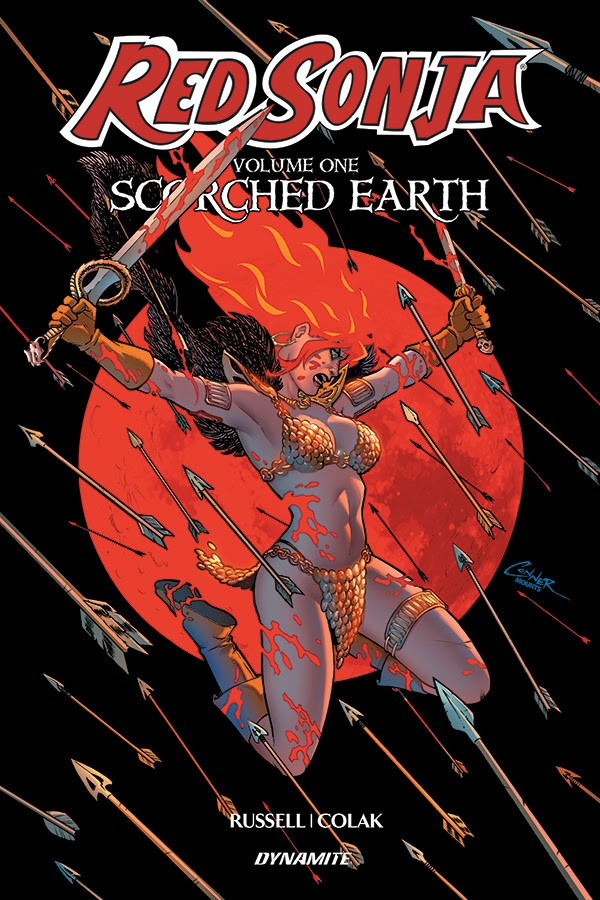 Red Sonja Scorched Earth Vol. 1