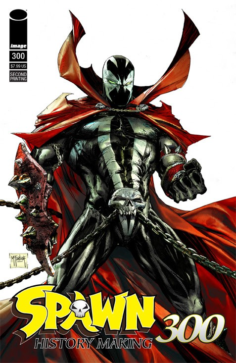 Spawn #300, second printing