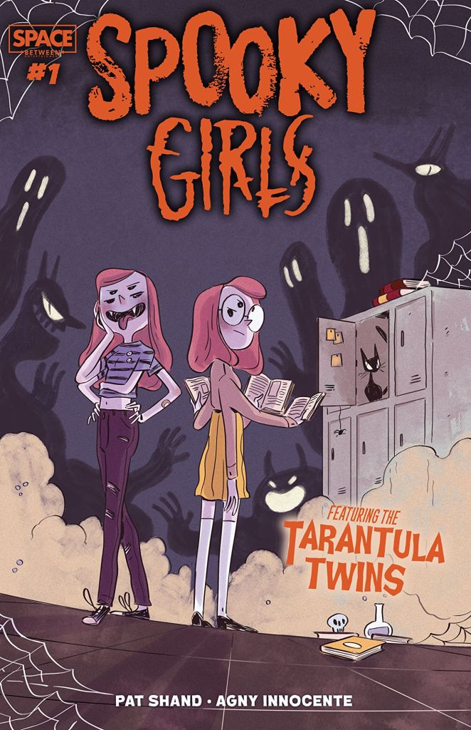 Spooky Girls: Tarantula Twins #1