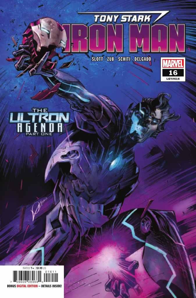 Tony Stark: Iron Man #16