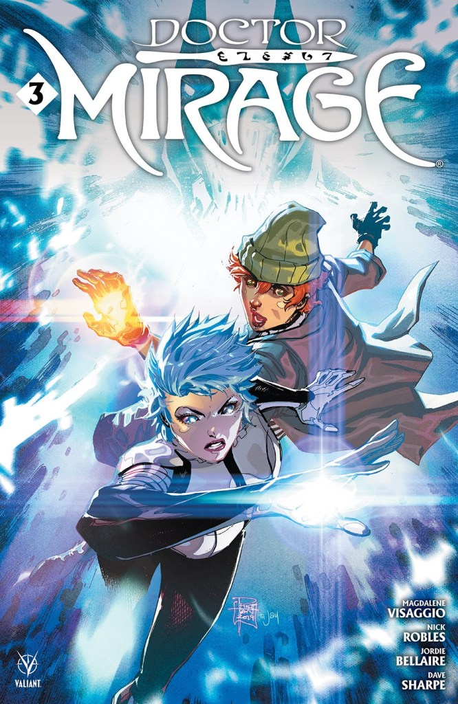 DOCTOR MIRAGE #3 (of 5)