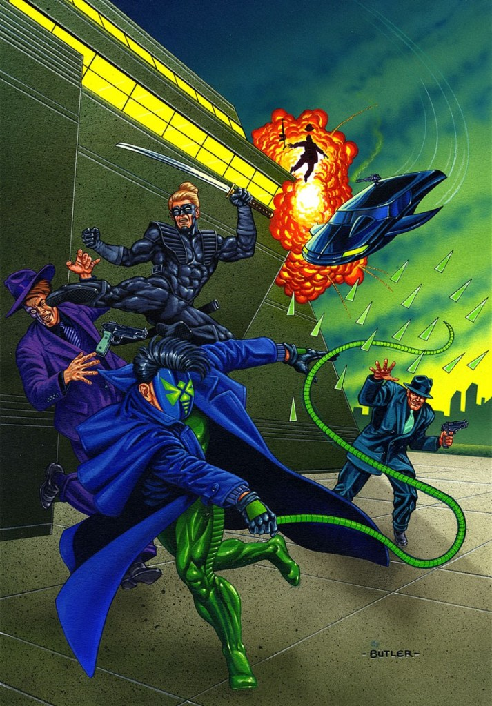 Green Hornet: Dark Tomorrow #3