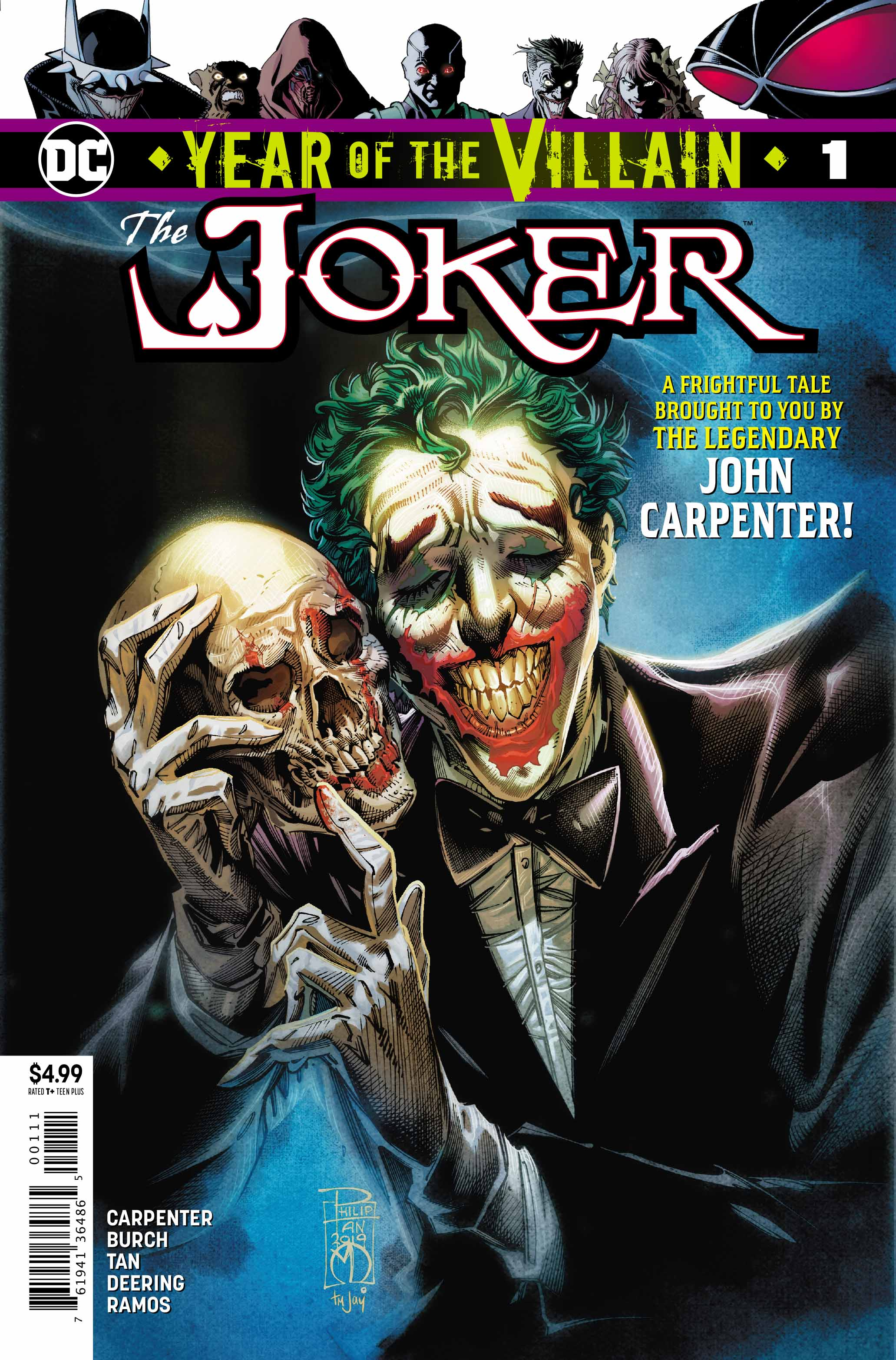Review: Year of the Villain: Joker #1