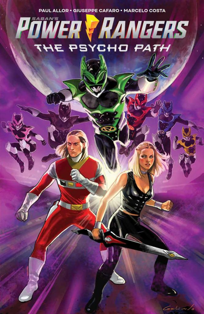 Saban's Power Rangers: The Psycho Path OGN SC