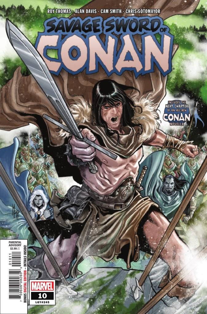 Savage Sword of Conan #10