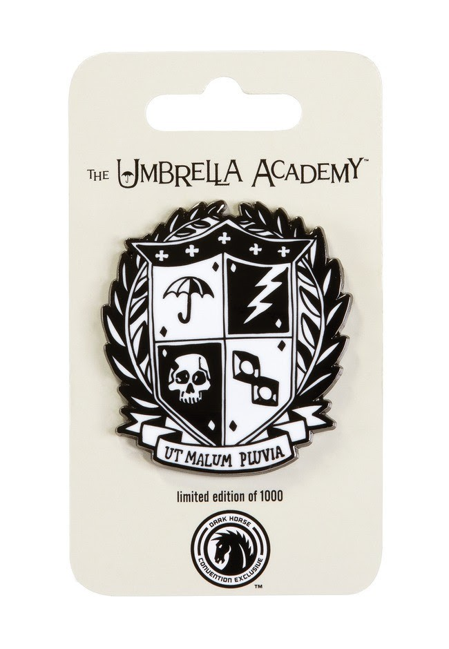 The Umbrella Academy Crest Pin