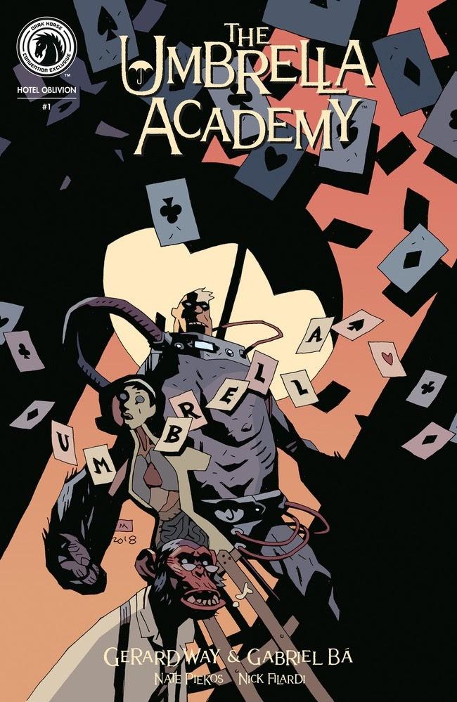 The Umbrella Academy: Hotel Oblivion #1 Convention Exclusive (Mike Mignola)