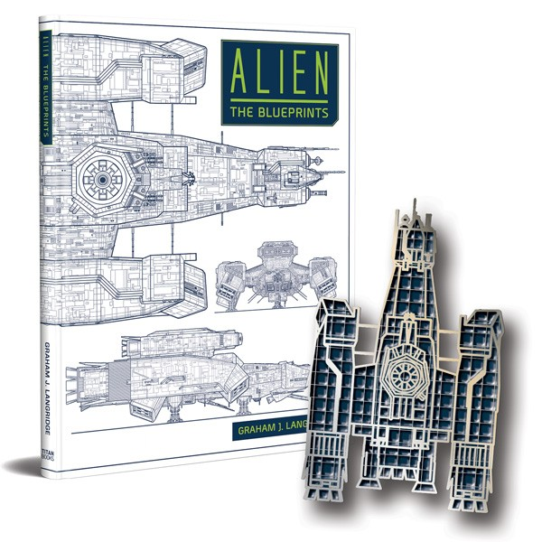 Alien: The Blueprintswith Limited Edition Nostromo Blueprint enamel pin