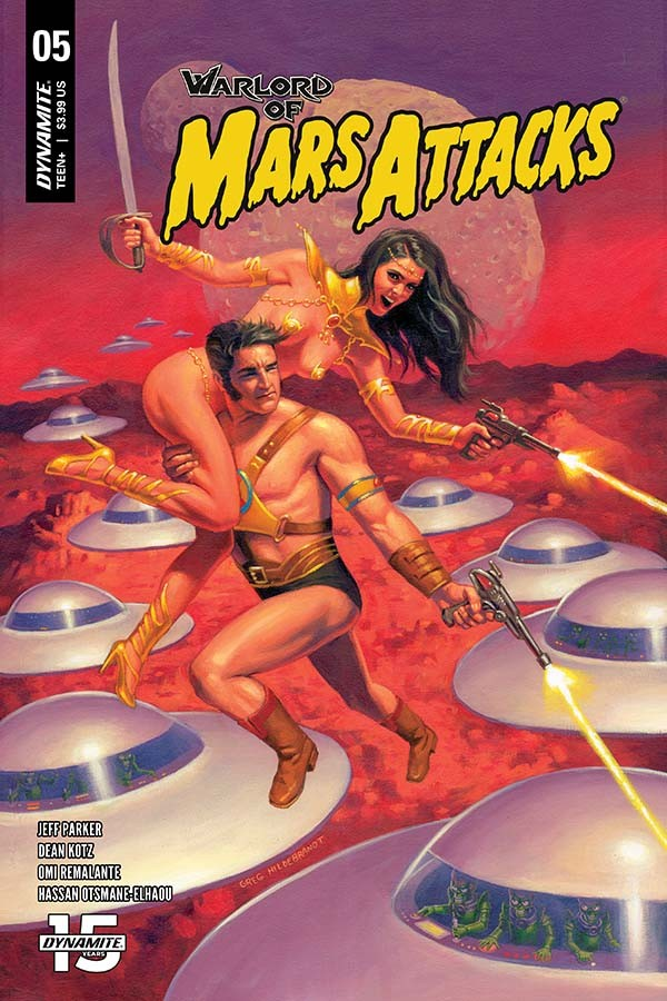 Warlord Of Mars Attacks #5