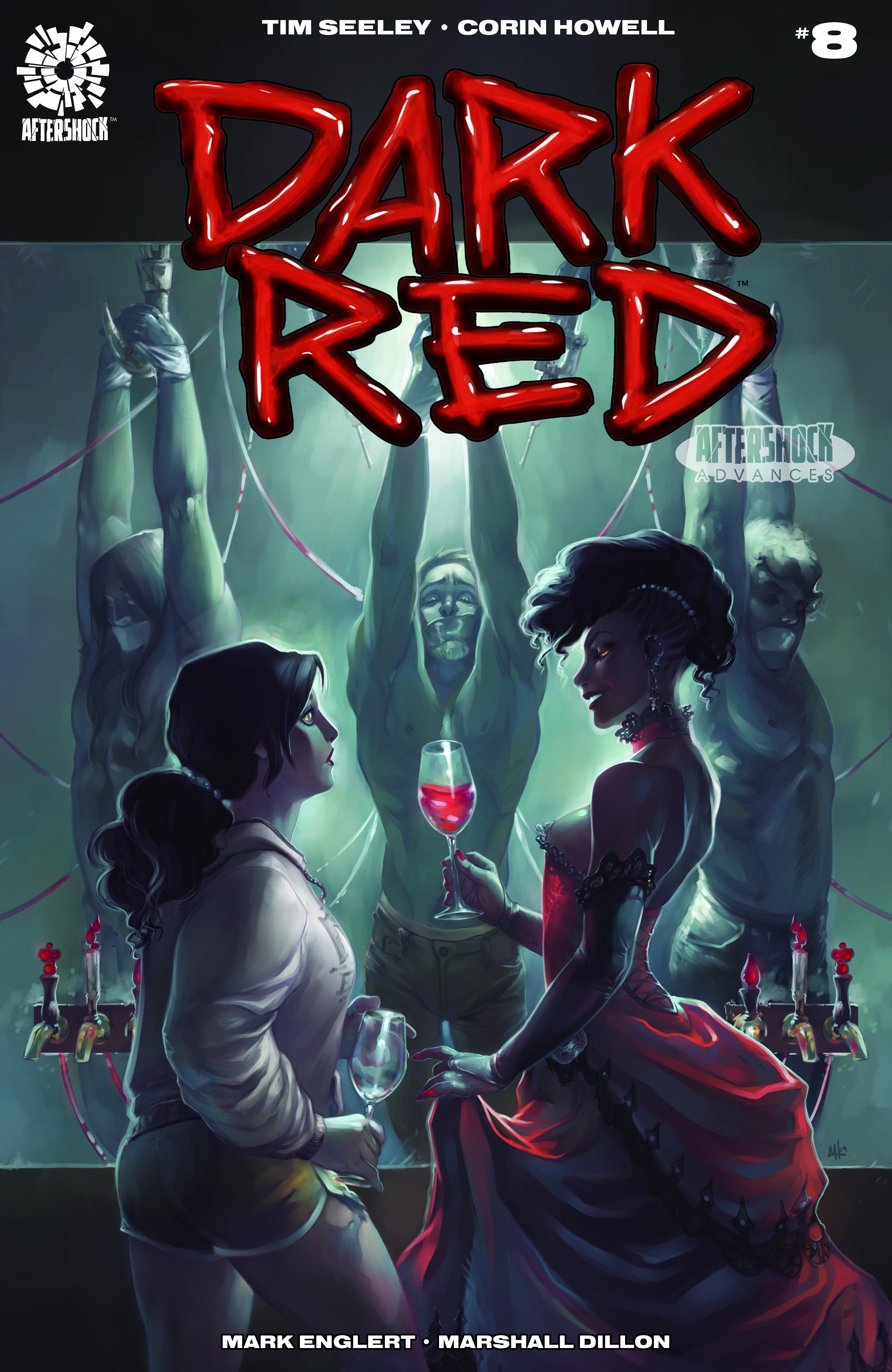 Meghan Hetrick Cover Aftershock 2019 Dark Red #8