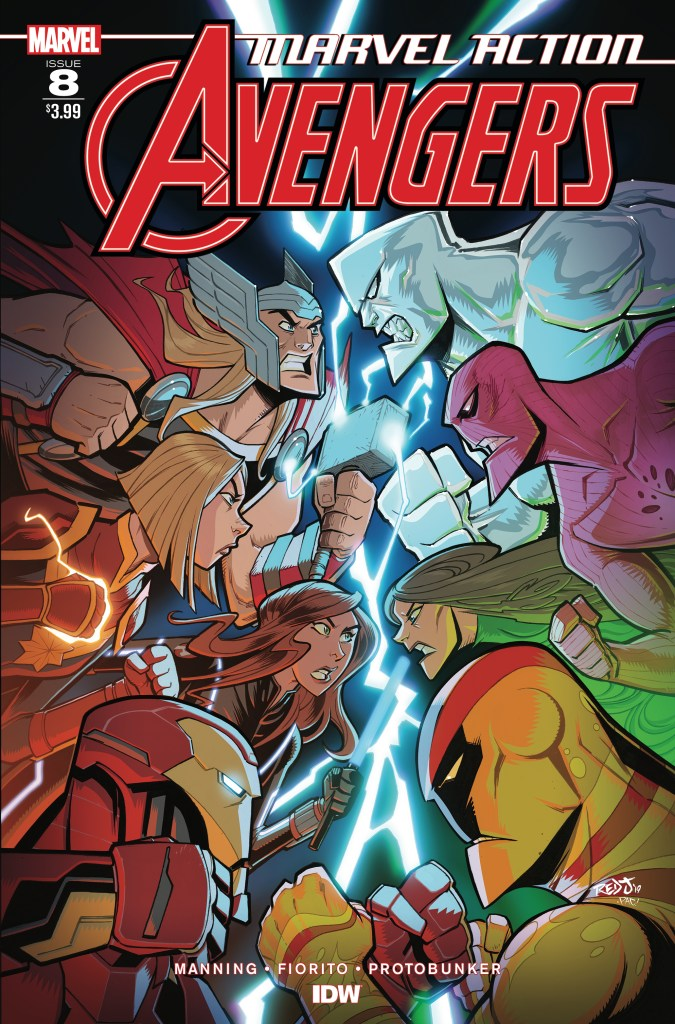 Marvel Action: Avengers #8