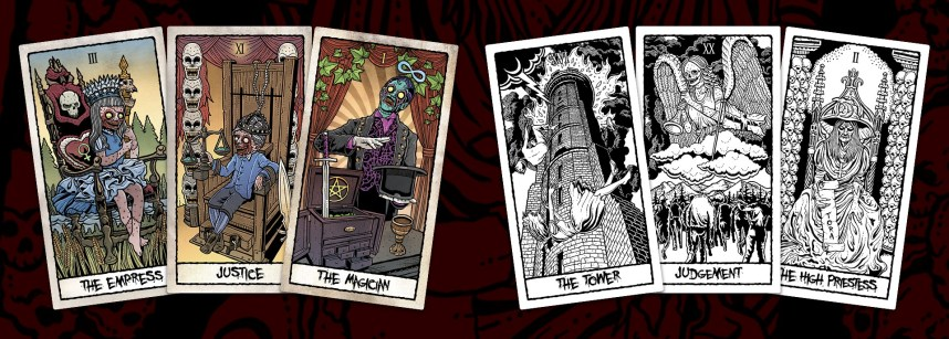The Beauty of Horror Tarot Card