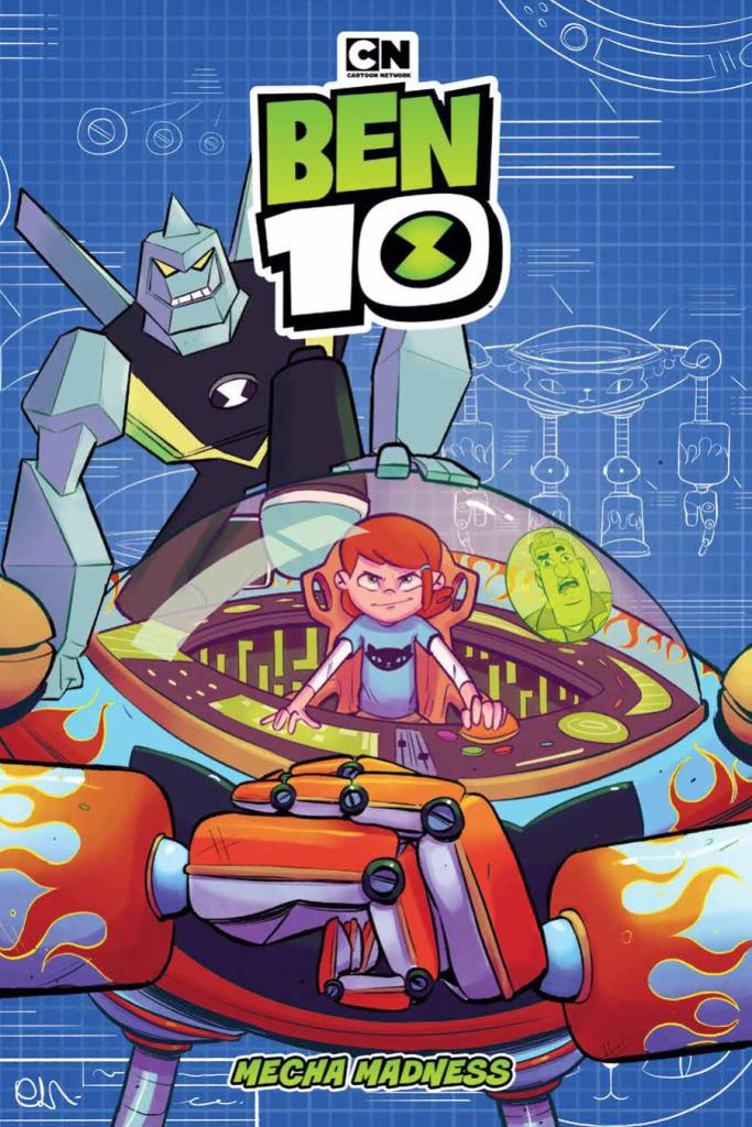 Ben 10: Mecha Madness OGN Vol. 3 SC