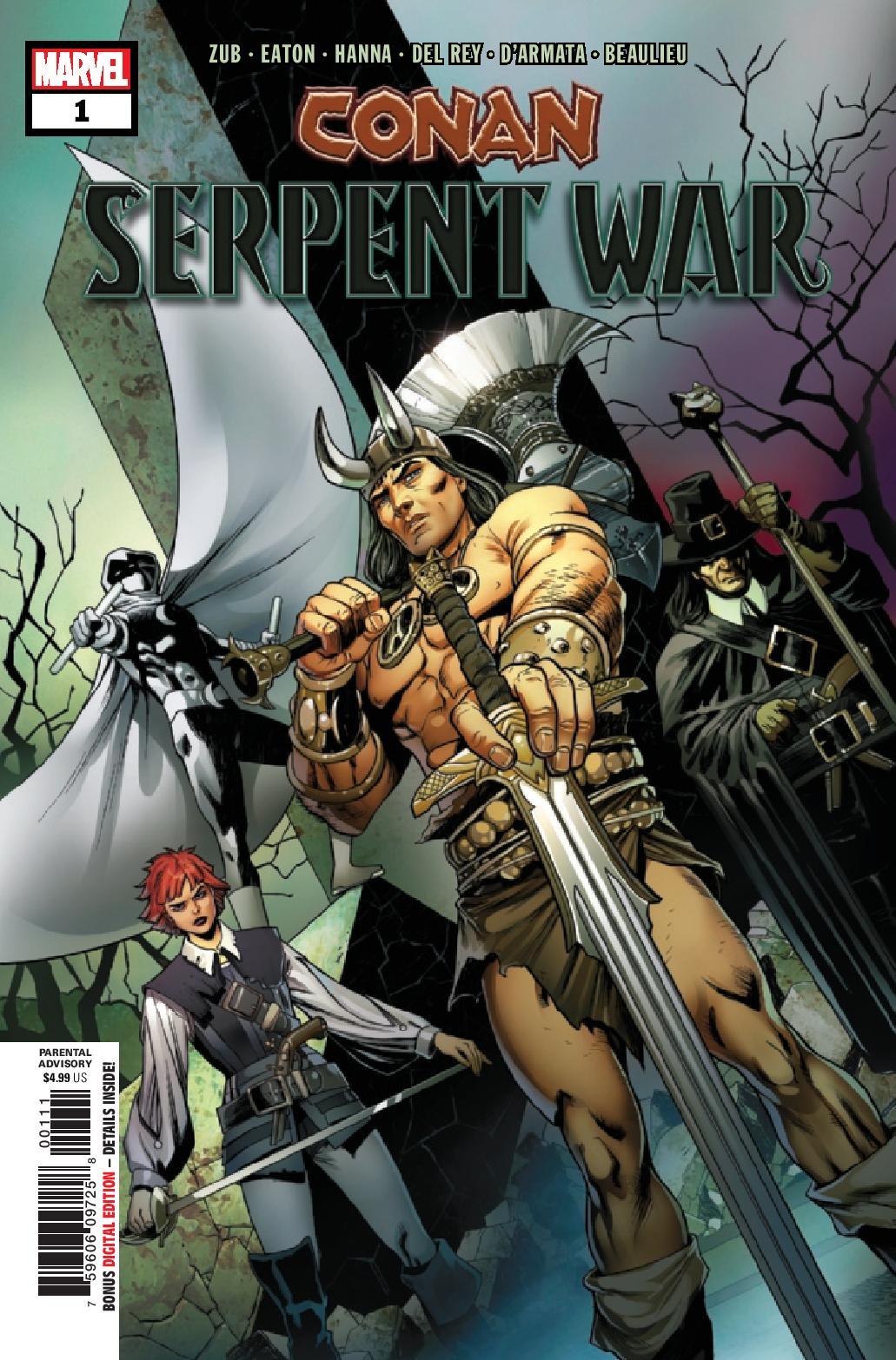 Review: Conan: Serpent War #1