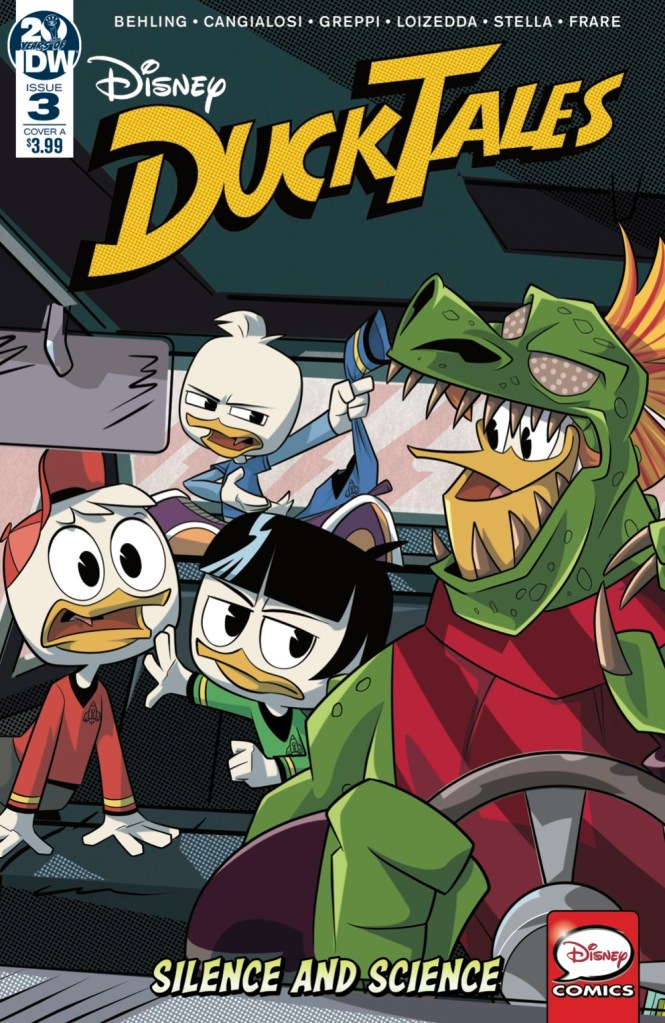 Ducktales: Silence & Science #3 (of 3)