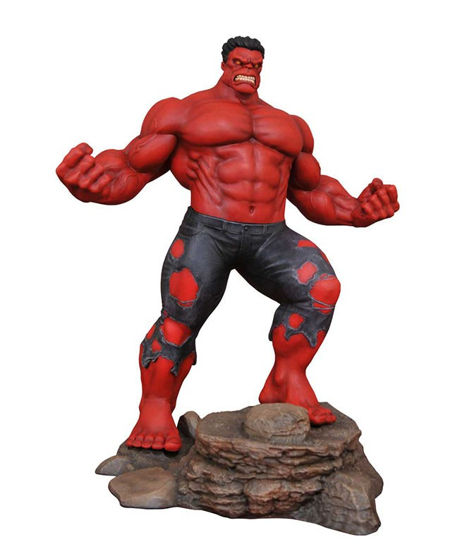 Marvel Comic Gallery Red Hulk PVC Diorama