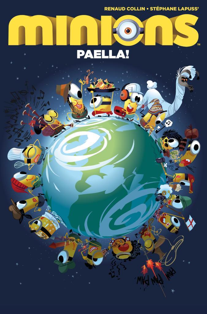 Minions Paella! #1