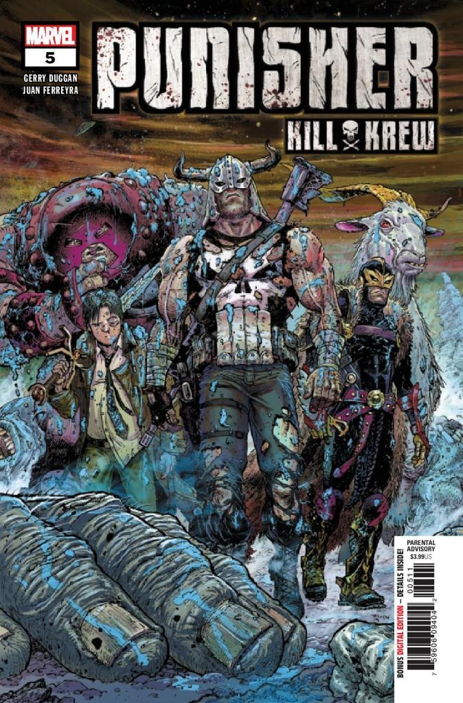 Punisher Kill Krew #5 (of 5)