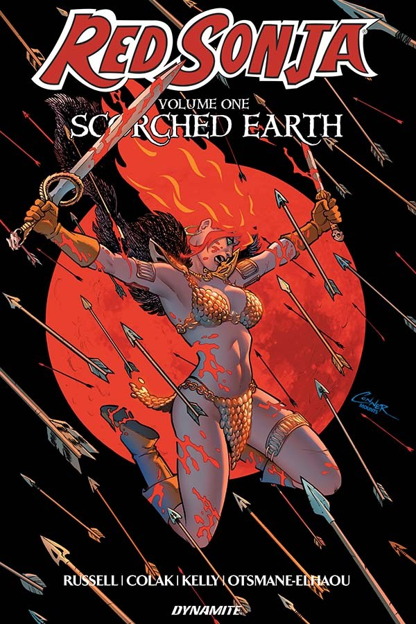 Red Sonja Vol. 1: Scorched Earth TP