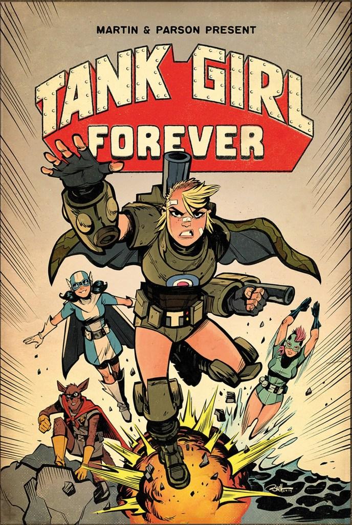 Tank Girl Forever #8