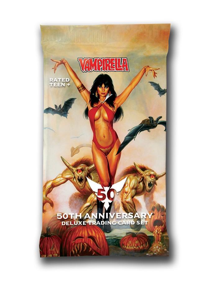 INDIVIDUAL VAMPIRELLA 50TH ANNIVERSARY ELITE PREMIUM TRADING CARDS