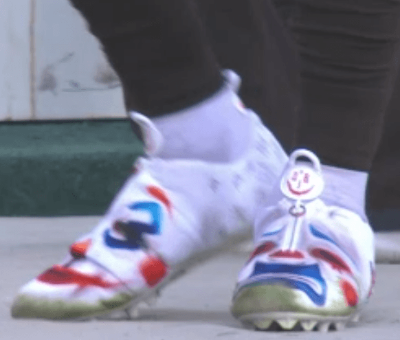 Odell Beckham Jr. Joker cleats