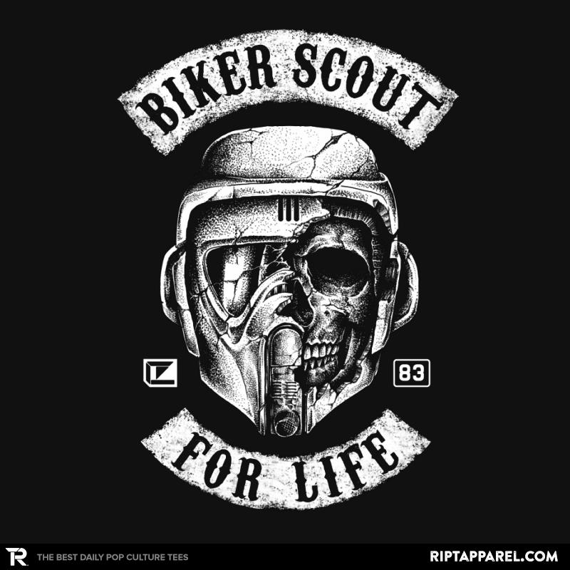 Biker Scout For Life