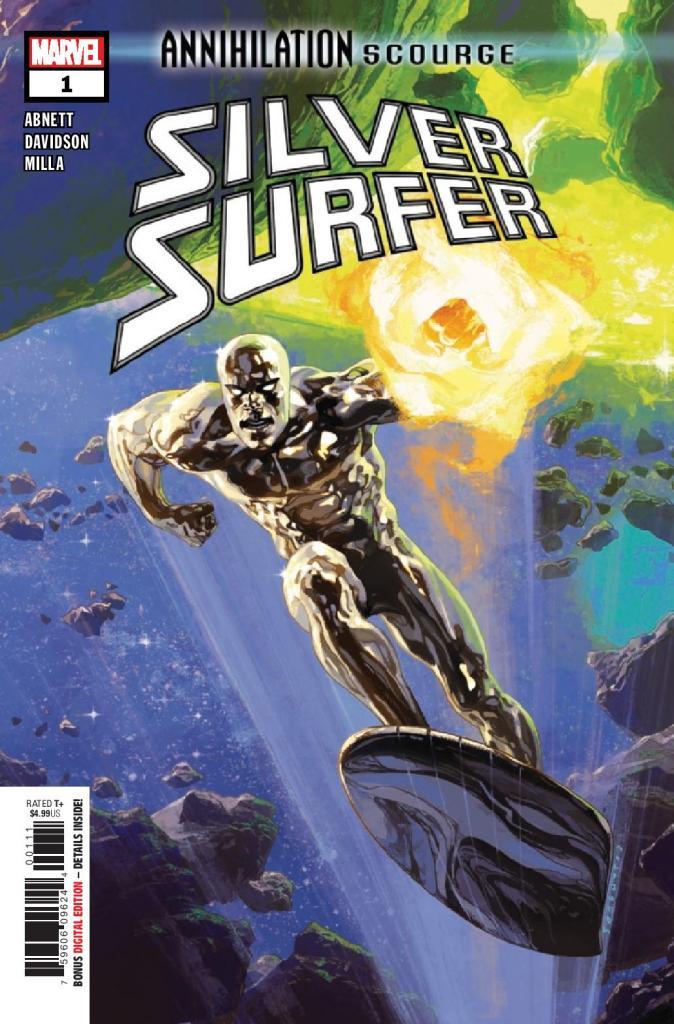 Annihilation Silver Surfer #1