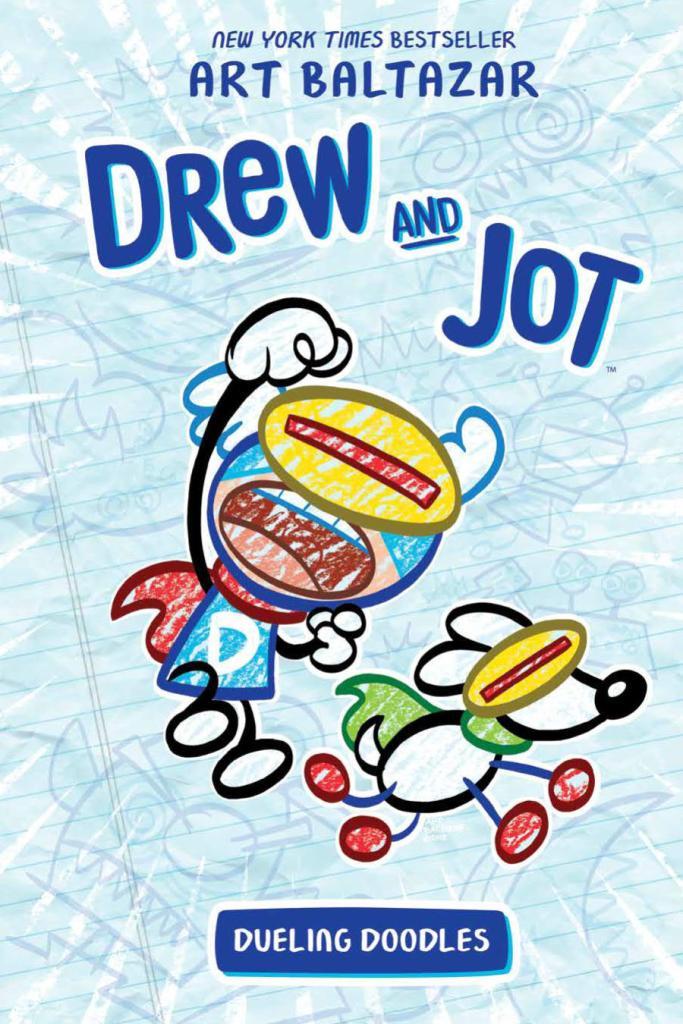 Drew And Jot: Dueling Doodles OGN HC