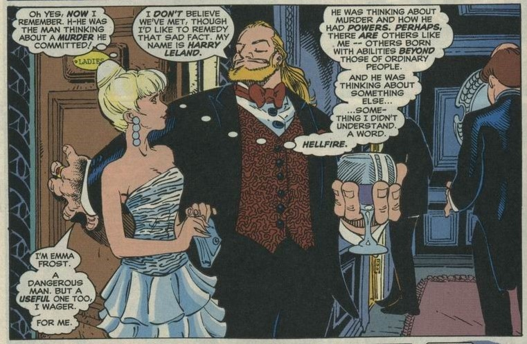 Emma Frost introduction