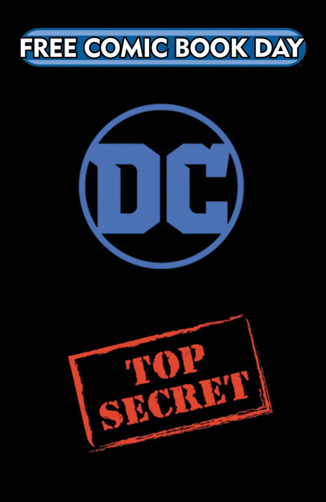 DC COMICS TOP SECRET GOLD BOOK