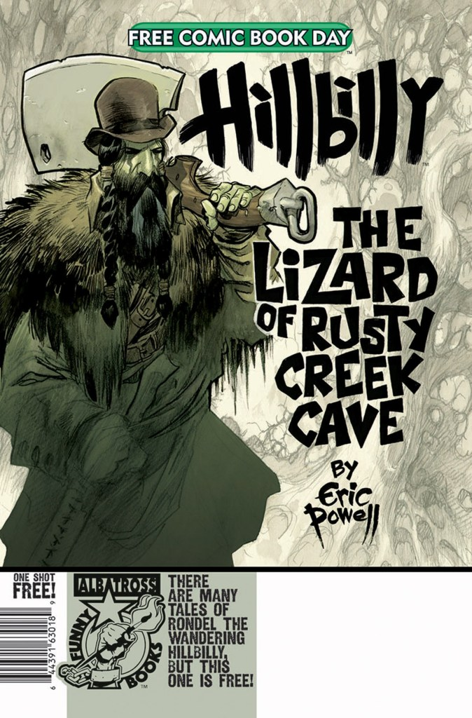 HILLBILLY: THE LIZARD OF RUSTY CREEK CAVE