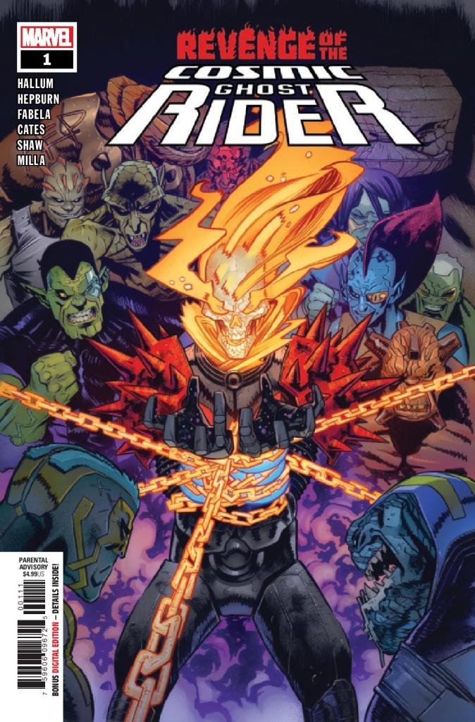 Revenge of the Cosmic Ghost Rider #1 (of 5)